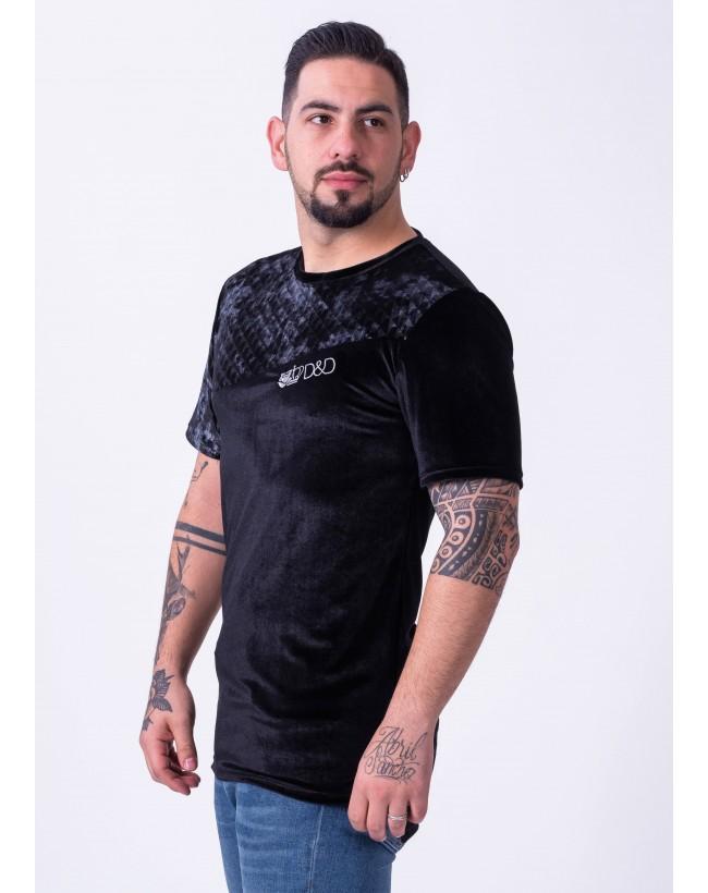 Velvet long t-shirt
