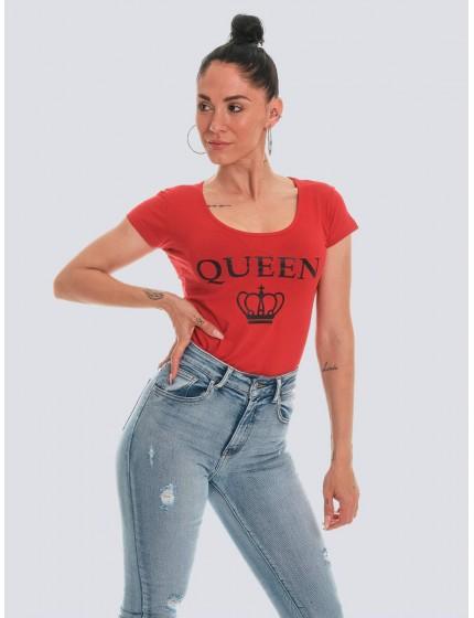 Camiseta Queen roja