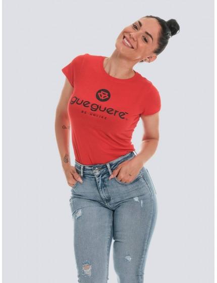 Camiseta Guegueré basic roja