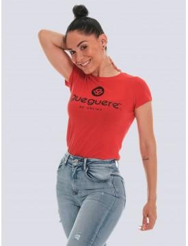 Guegueré Basic red T-shirt