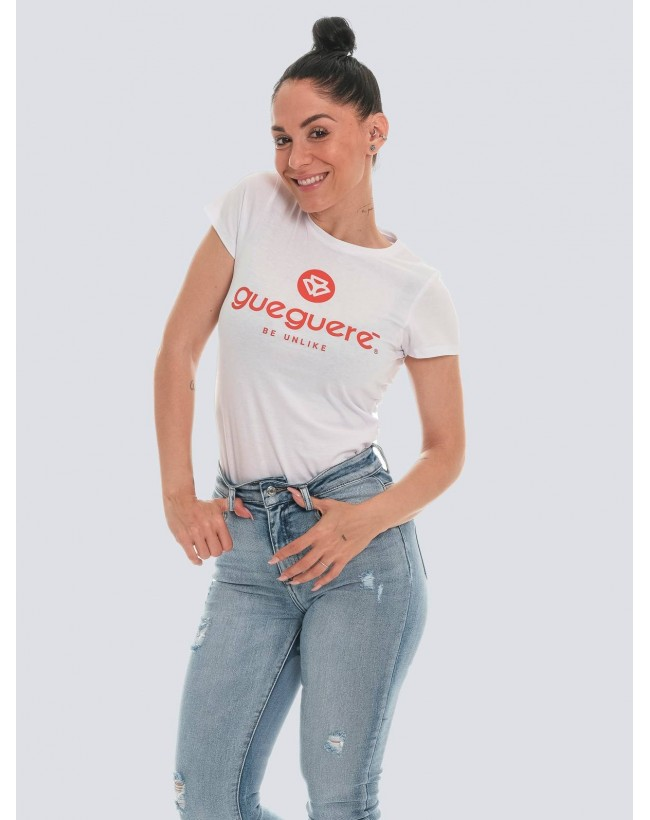 Camiseta Guegueré basic blanca
