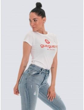 Guegueré Basic white T-shirt