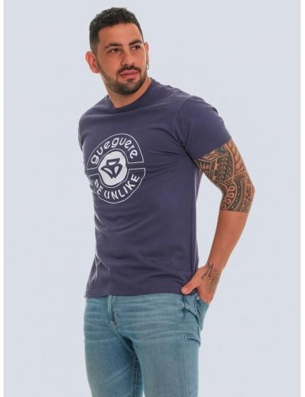 Guegueré Denim T-shirt