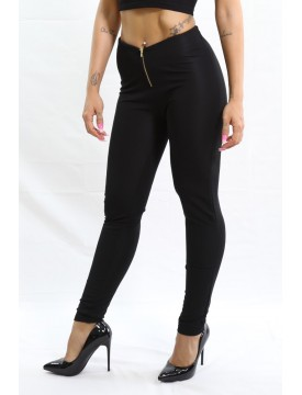 Legging Zip negro