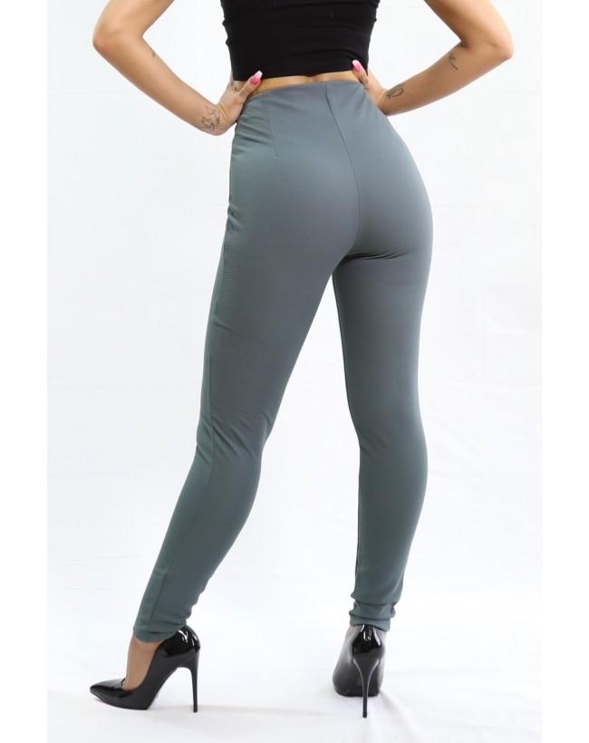 Legging Zip gris