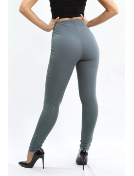 Legging Zip gris