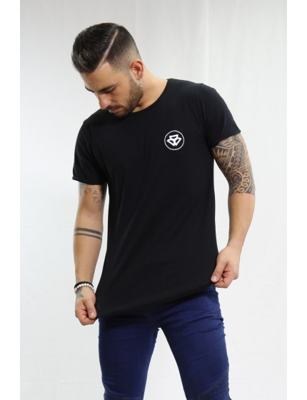 T-shirt One Long black