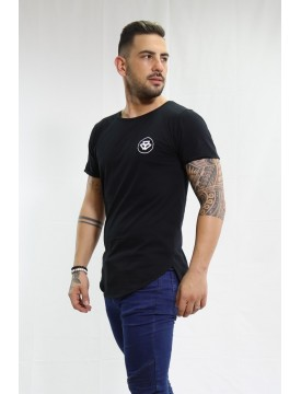 One Long black t-shirt