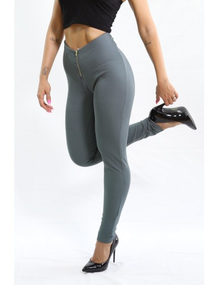 Legging Zip grey