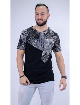 T-shirt Daniel Goldhen Black