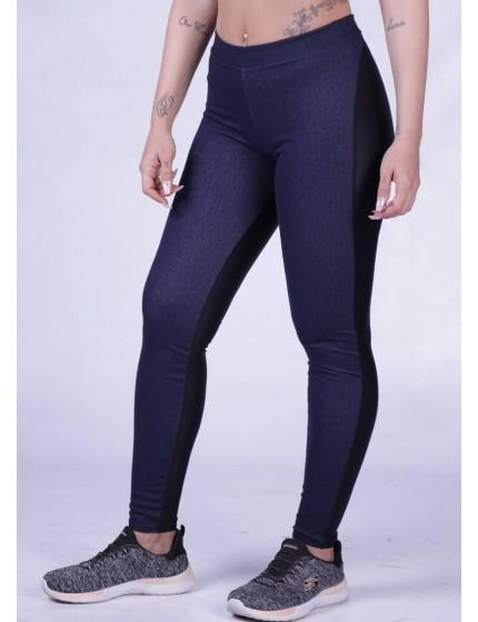 Legging Denim blue