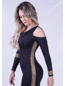 Mono baile Luxor Leopardo