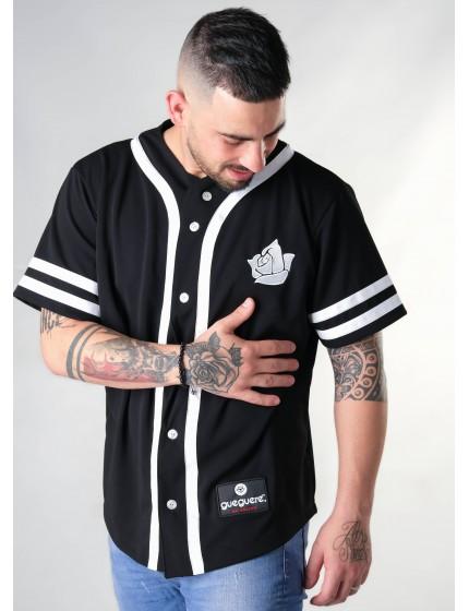 Camiseta Baseball Style Negra