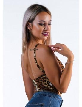 Bodysuit Verona leopard