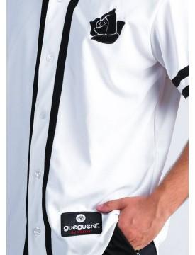 Baseball white t-shirt