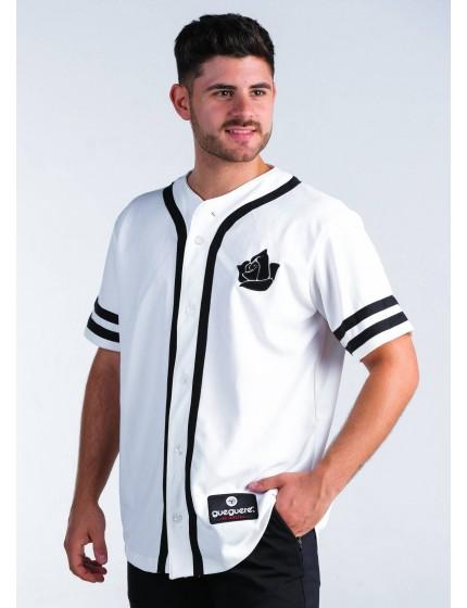 Camiseta Baseball Style blanca