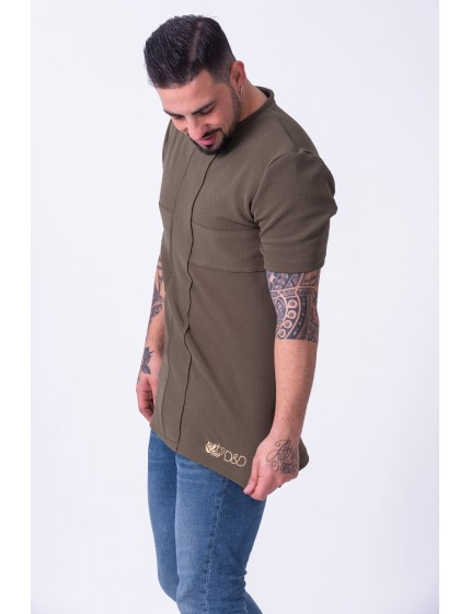 Camiseta baile Cross verde