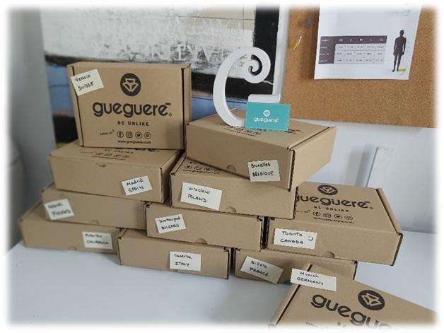 Guegueré paquetes